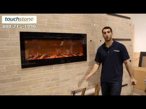How to Install Touchstone Sideline 50' Recessed Electric Fireplace