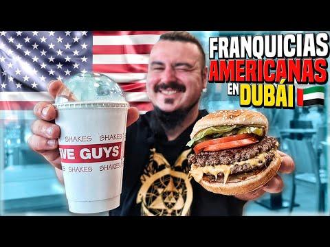 Así es la COMIDA RÁPIDA de FRANQUICIAS AMERICANAS en DUBAI!🍔¿Cambia Mucho?