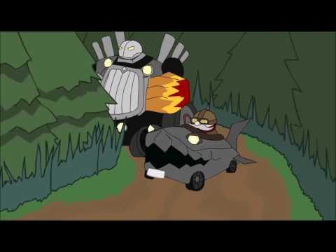 League of Legends animation - Initial D style (dejavu) Eurobeat