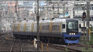 特急「新宿わかしお」安房鴨川行き 錦糸町駅に到着
