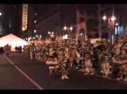 Philadelphia Mummers Super Band Play for 150th Annv of Academy of Music