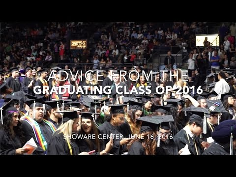 Advice from Highline's Graduating Class of 2016