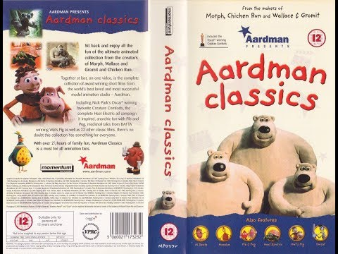 Aardman Classics (2000 UK VHS)
