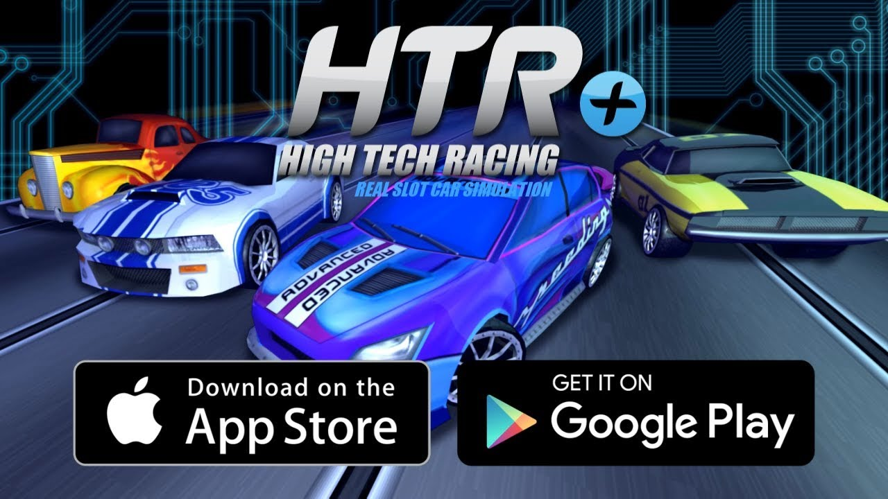 HTR+ Slot Car Simulation | Launch Trailer | iOS, Android