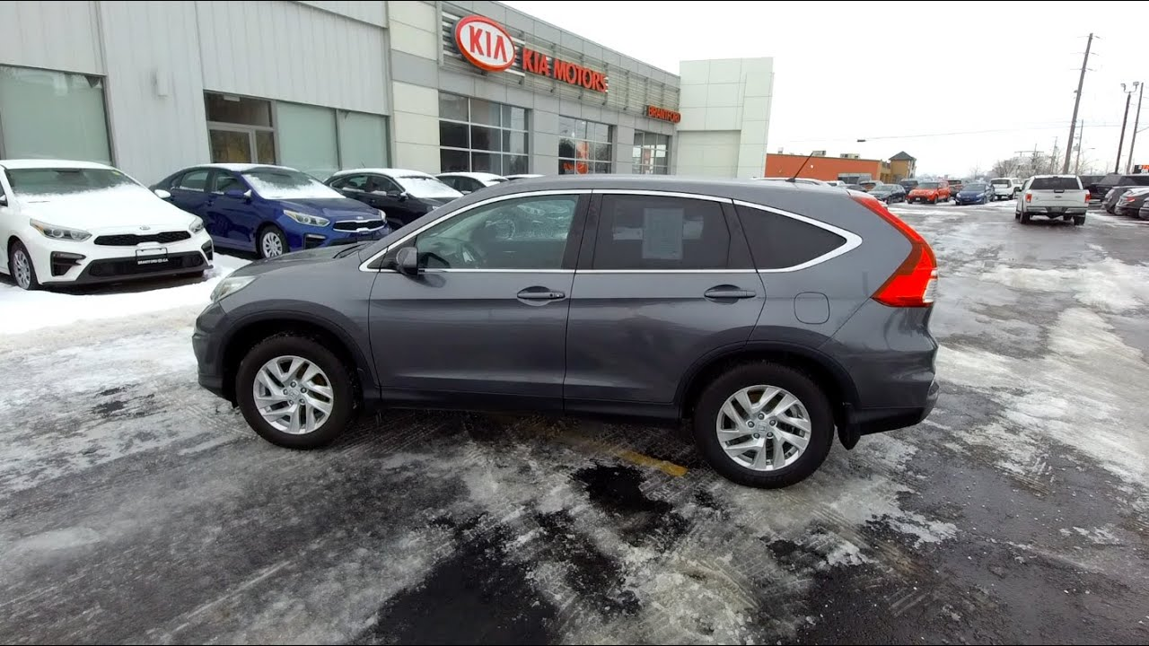 Kia Used Cars >> 2016 Honda Cr V Used Cars For Sale Brantford Kia 519 304 6542 Stock No P2675