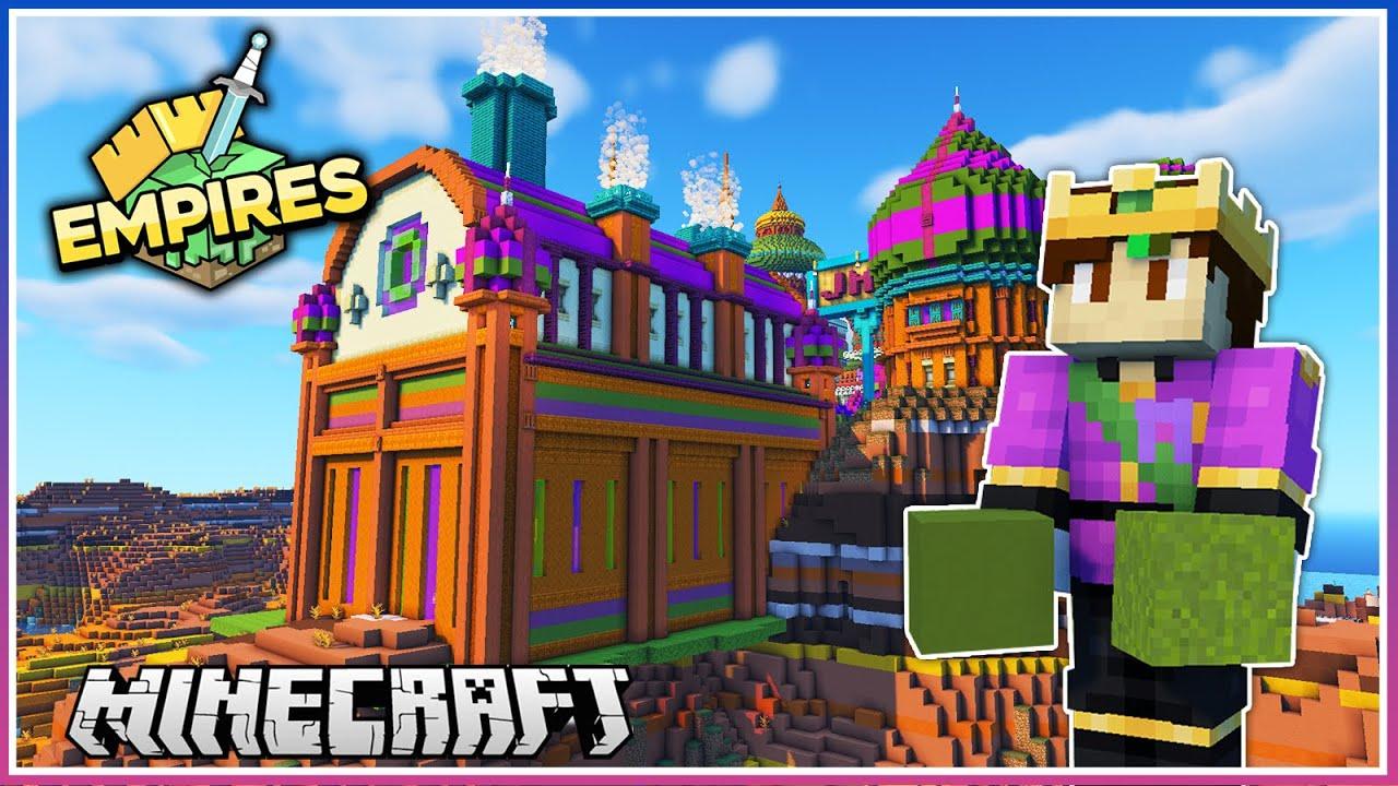 Download HUGE Factory! (Richest Empire) | Empires SMP | Ep.24 (1.17 Survival)