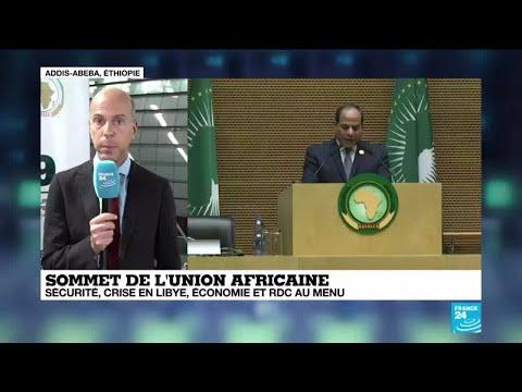 Sommet de l'Union africaine : sécurité, crise en Libye, économie et RDC au menu