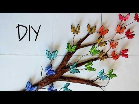 DIY: 3D Flower Canvas Wall Art - DIY Mothers Day gift !