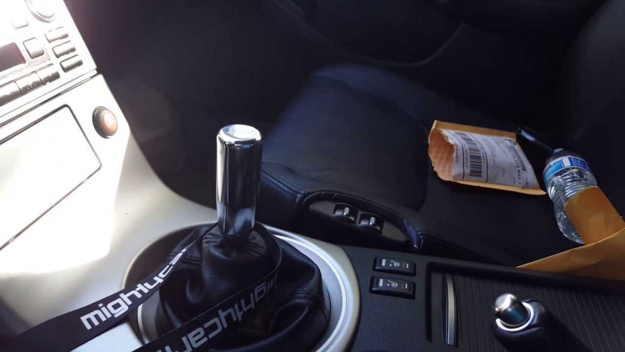 Review: Mishimoto Weighted Shift Knob on G35 6MT