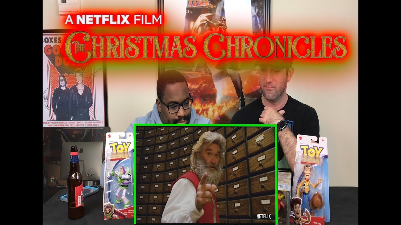 Christmas Chronicles Review.Netflix The Christmas Chronicles Movie Reaction Review
