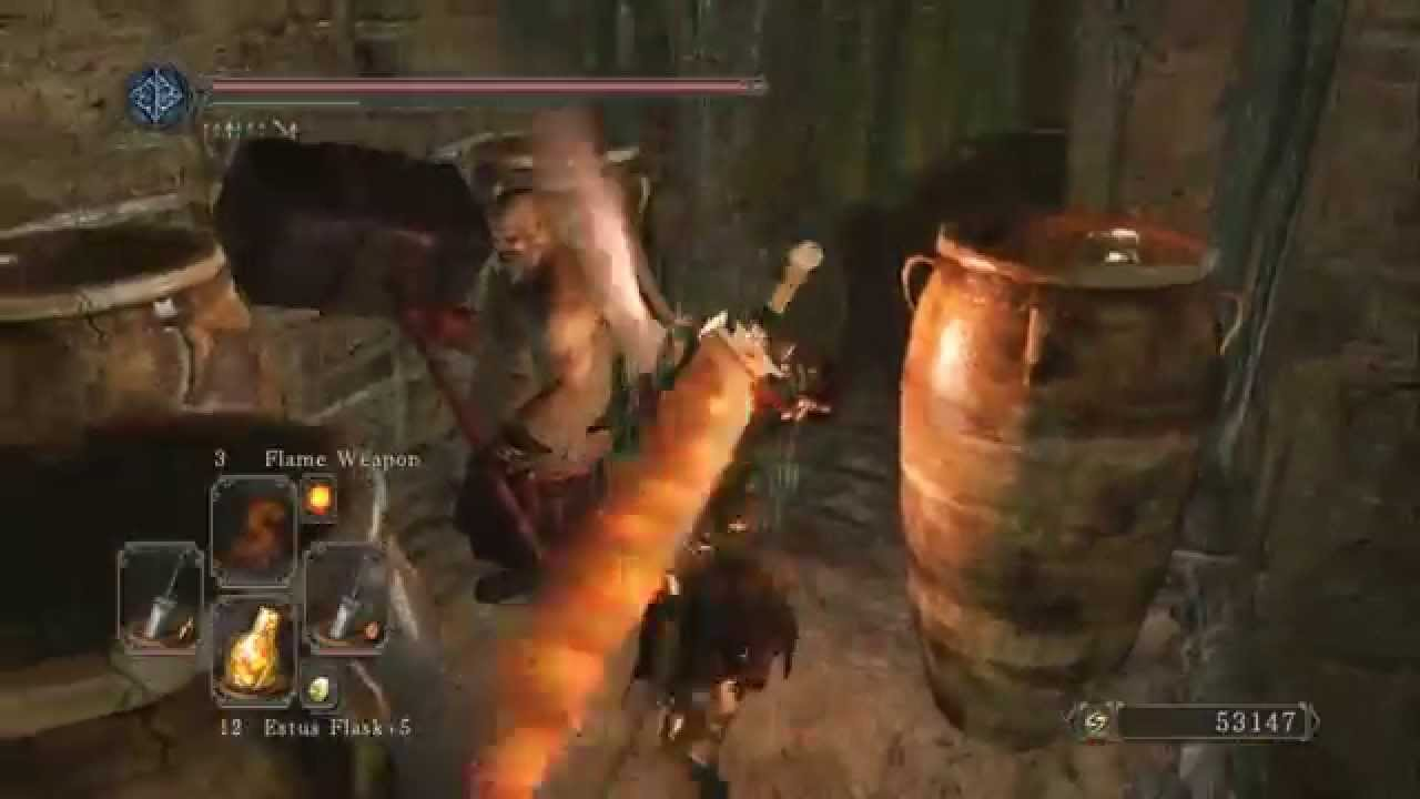 Dark Souls 2 Dual Greatsword Strength Pve Build Youtube