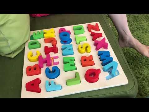 Alphabets Name Puzzles