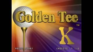 Arcade Game | Golden Tee 2K Arcade Game 2000 . First 9 holes Gameplay. | Golden Tee 2K Arcade Game 2000 . First 9 holes Gameplay.