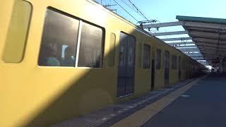 西武9000系9104F急行飯能行き秋津駅通過