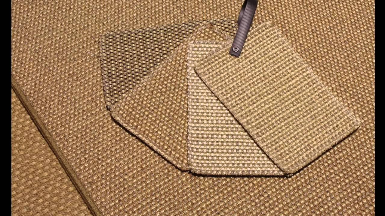 alfombra de sisal a medida modelo r35 - youtube