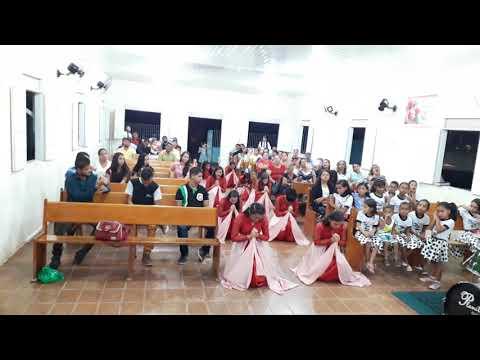 Grupo de jeitos louvor e adoração às palmeira alta al