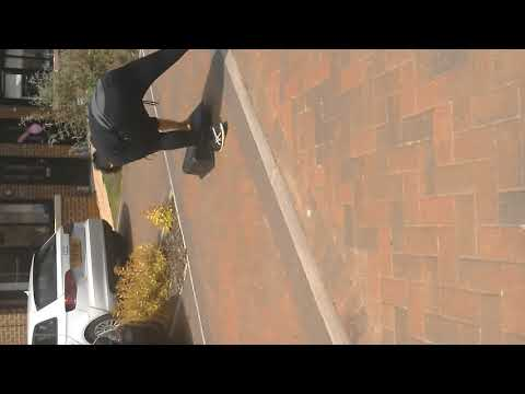RC car jump gone wrong (Try not to laugh) clean