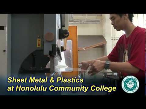 Sheet Metal and Plastics Technology at Honolulu Community College
