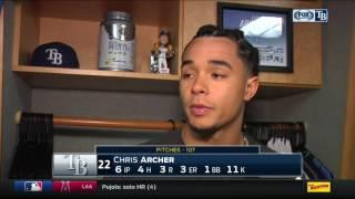 Chris Archer -- Tampa Bay Rays vs. Toronto Blue Jays 05/05/2017