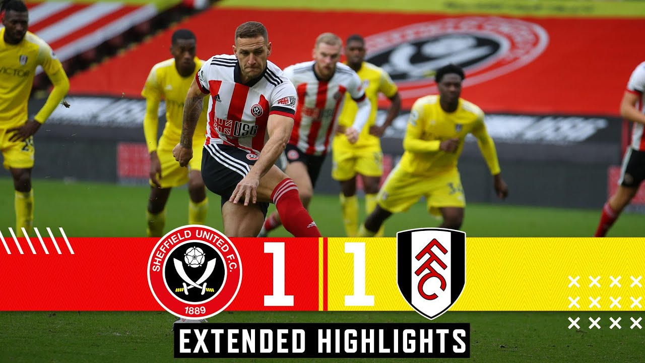 Sheffield United 1-1 Fulham | Extended Premier League highlights