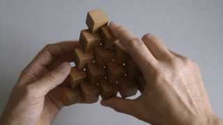 """Решение деревянной головоломки """"Невозможный треугольник"""""""