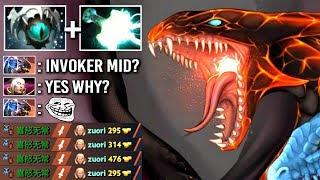 EPIC SHIT Carry Jakiro Counter Invoker Mid EZ Imba Mjollnir Build Gameplay WTF Dota 2