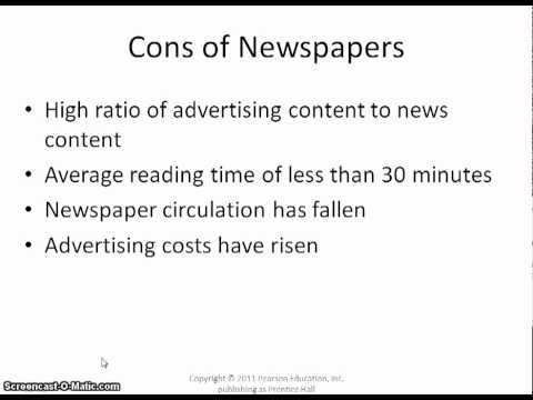 Pros and Cons Review of Advertising Media