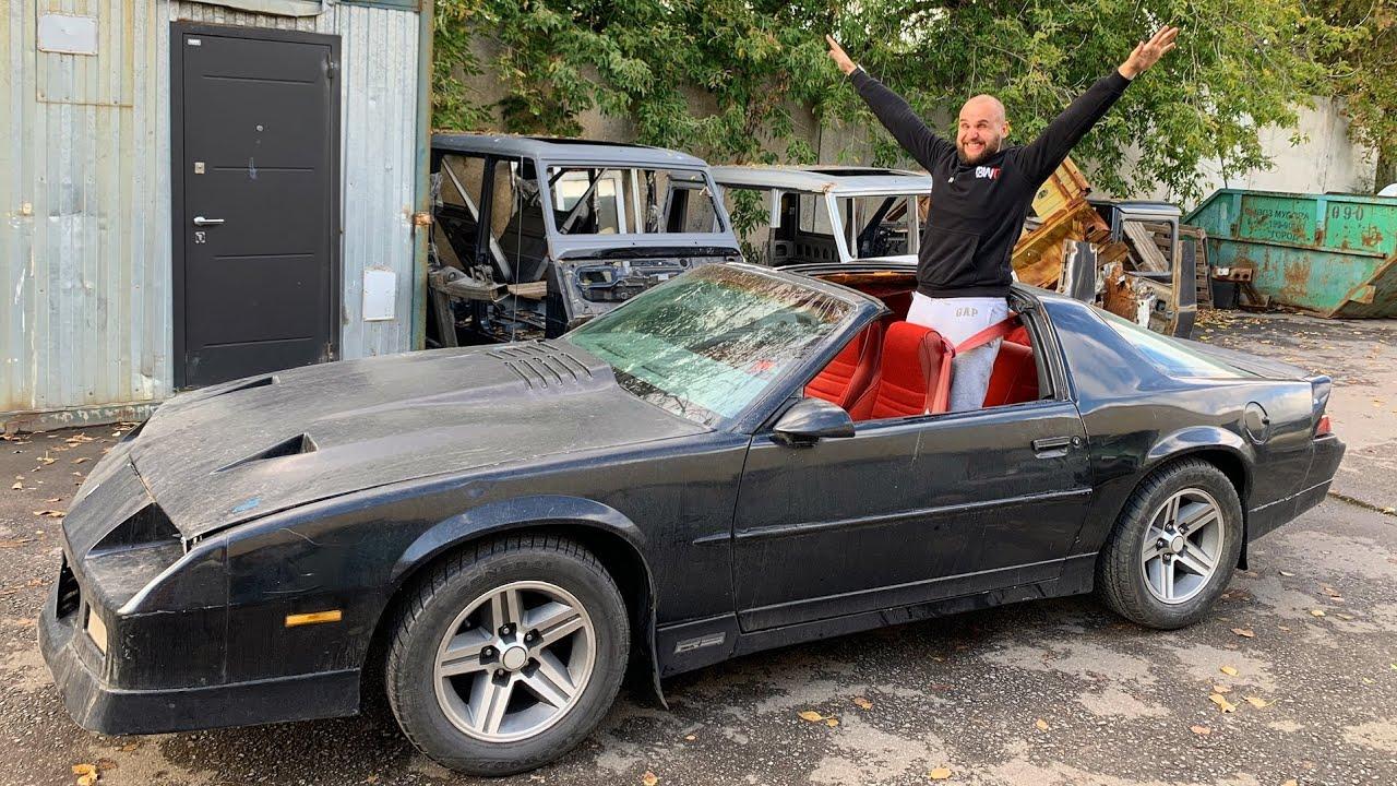 Покупка НОВОЙ Chevrolet Camaro!