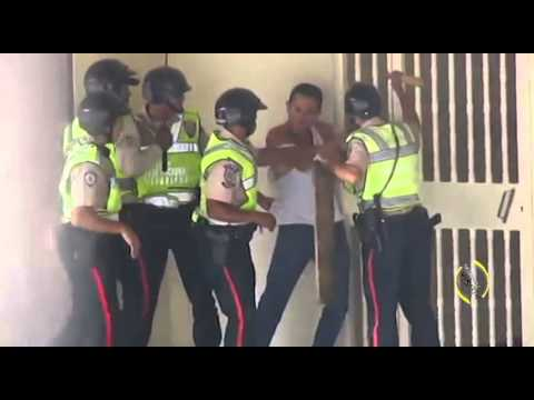 Image result for police brutality, venezuela, photos