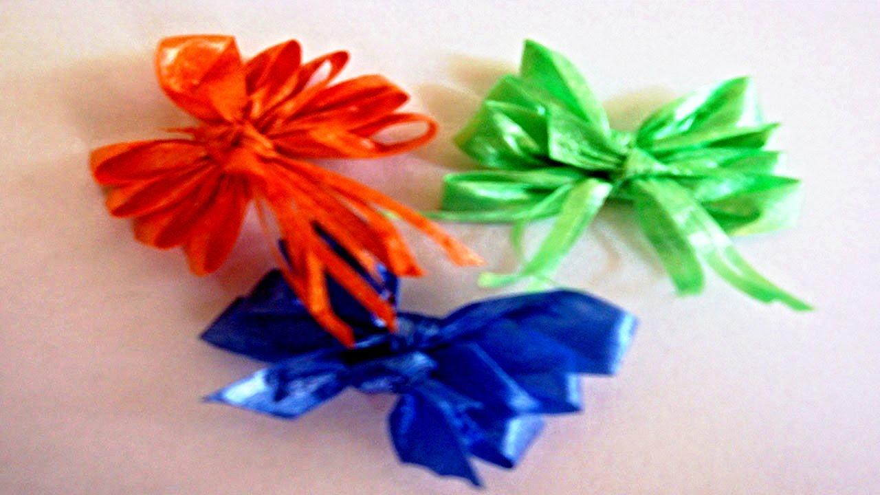 kleine geschenkschleife binden deko ideen mit flora shop youtube. Black Bedroom Furniture Sets. Home Design Ideas