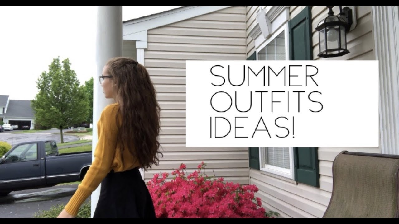 Summer Outfit Ideas! 1