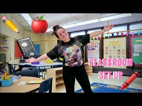 FIFTH GRADE CLASSROOM SET UP | BACK TO SCHOOL