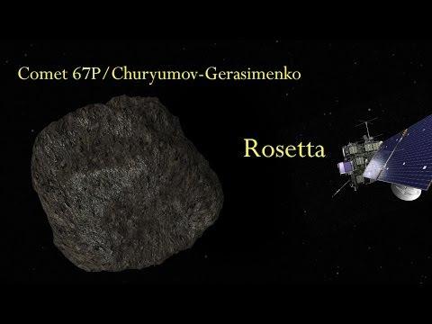 Rosetta - the comet chaser