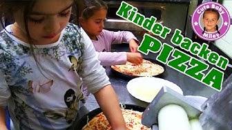 MILEY BACKT PIZZA IN EINER PIZZERIA | eine 7 Jährige in einer Restaurant Küche | CuteBabymiley