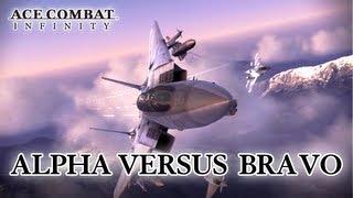 Ace Combat Infinity - PSN - Alpha Vs Bravo (trailer)