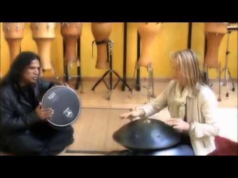 Trommel-Probe Rhythmuswelten & Ojas Music