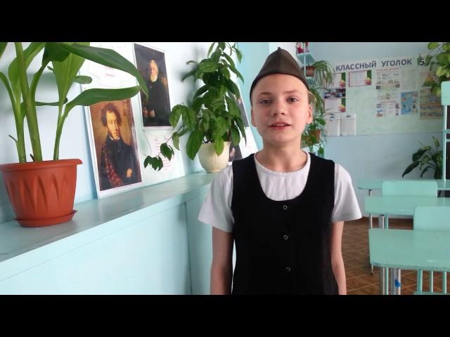 Изображение предпросмотра прочтения – ДаринаОрлова читает произведение «Майор привез мальчишку на лафете» К.М.Симонова