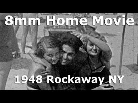 8mm Home Movie Showcase - Rockaway Park NY 1948