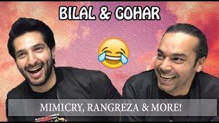 BILAL & GOHAR COPY IMRAN KHAN, HAMZA ALI ABBASI   RANGREZA   ORANGE WALL TV
