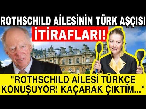 Rothschild'ın Türk Aşçısının İtirafları: Rothschild Ailesi Türkçe Konuşuyor... Zor Kurtuldum...