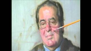 Video Nelson Shanks paints Antonin Scalia download MP3, 3GP, MP4, WEBM, AVI, FLV November 2017