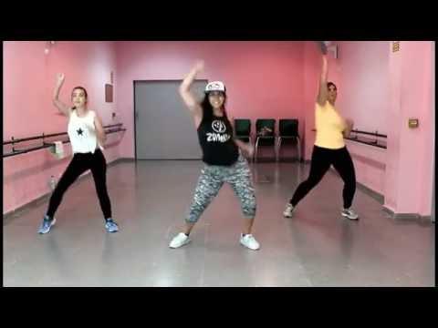 Turn it up - Zumba Fitness - Laura Román con Sara y Ana
