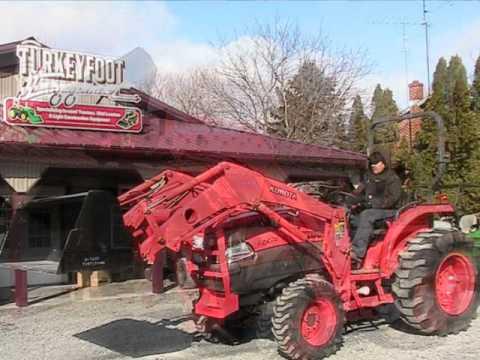 Kubota L Tractor La 854 Loader 4x4