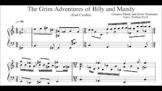 The Grim Adventures of Billy and Mandy - End Credits [Transcription]