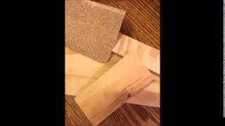 Asmr--sandpaper & Wood
