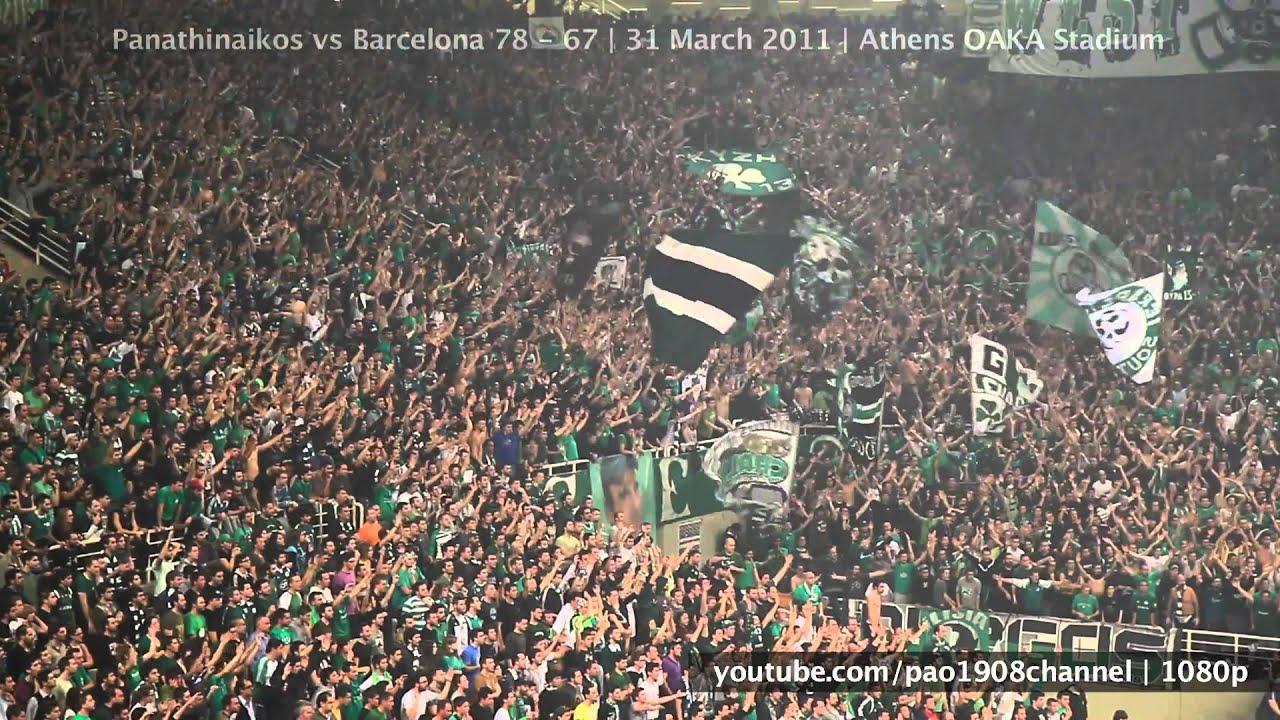 παο μπασκετ Image: Pao Vs Barca Great Atmosphere