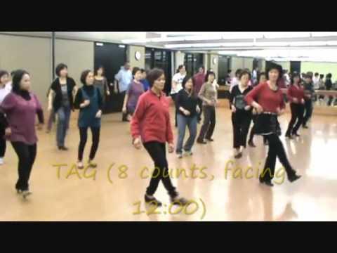 Christmas Polka Line Dance