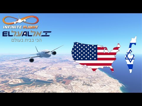 Infinite Flight GLOBAL: San Francisco (SFO) To Tel Aviv (TLV) | El Al | Boeing 787 | TIMELAPSE