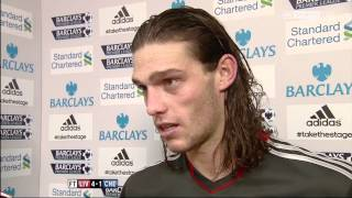 Jordan Henderson and Andy Carroll Post Match Interview - Liverpool v Chelsea (HD)