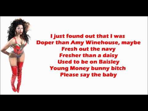 Nicki Minaj - Beam Me Up Scotty Lyrics Video